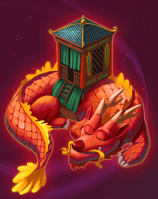 Chinese Dragon Card in Coin Master