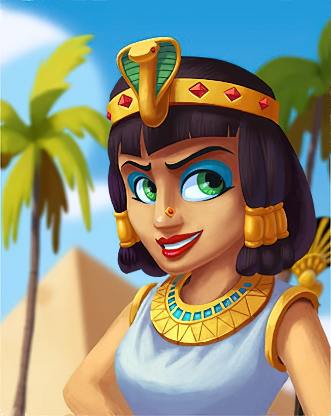 Cleopatra Card in Coin Master