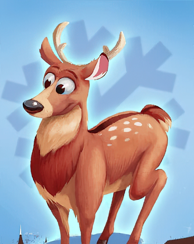 Deer Card in Coin Master