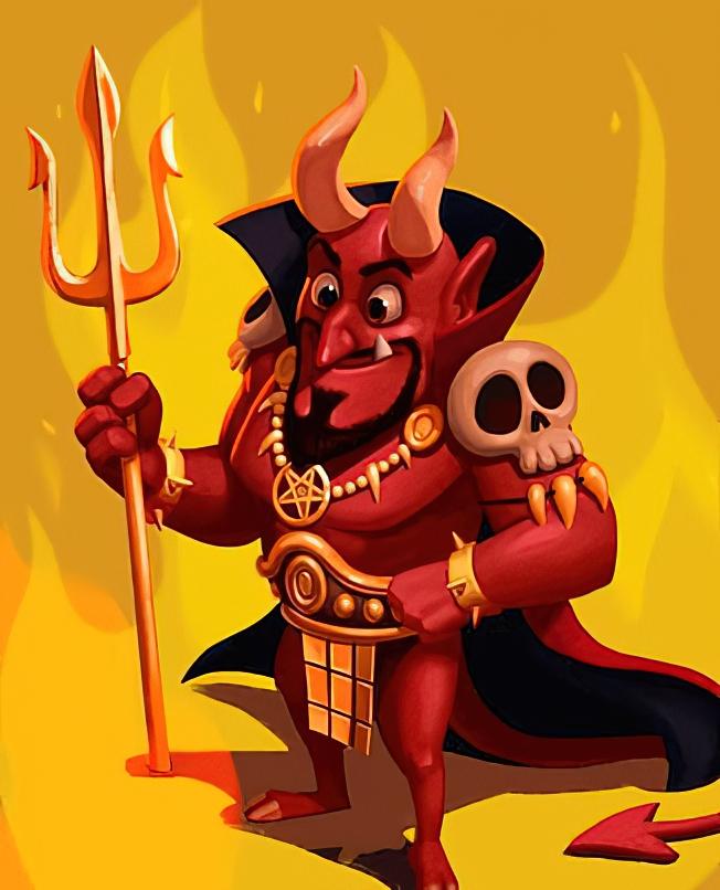El Diablo Card in Coin Master