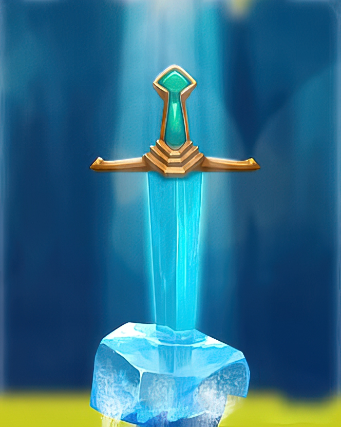 Excalibur Card in Coin Master