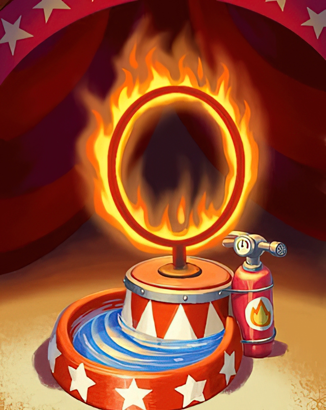 Fire Ring Card in Coin Master