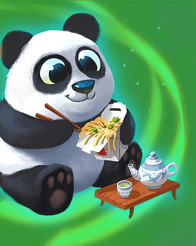 Fluffy Panda Card in Coin Master