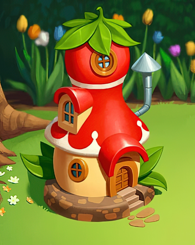 Gnome House Card in Coin Master