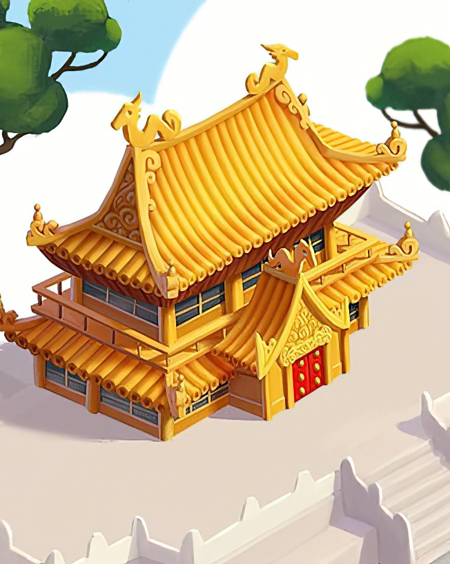 Imperial Temple Card in Coin Master