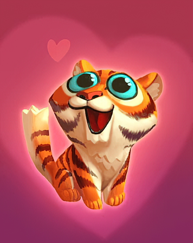 Kitty Tiger Card in Coin Master