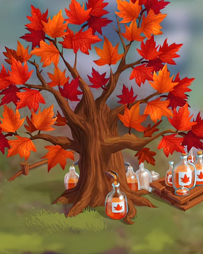 Maple Tree Card in Coin Master