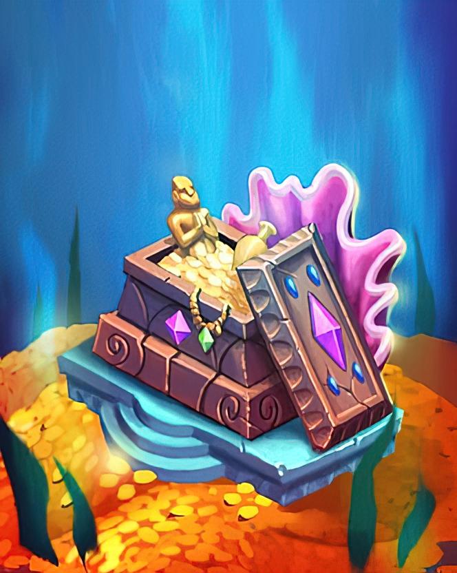 Ocean Treasure Card in Coin Master