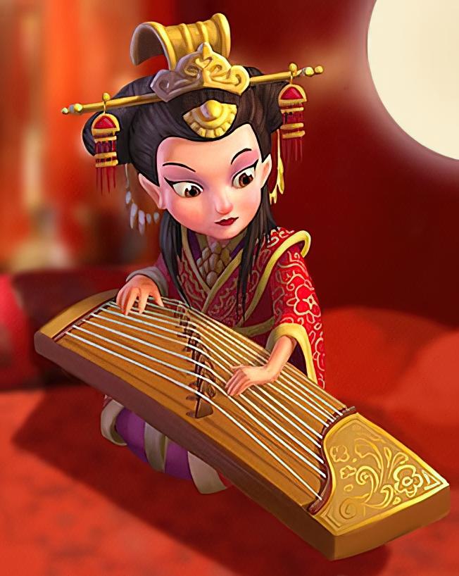 Princess Pei Card in Coin Master