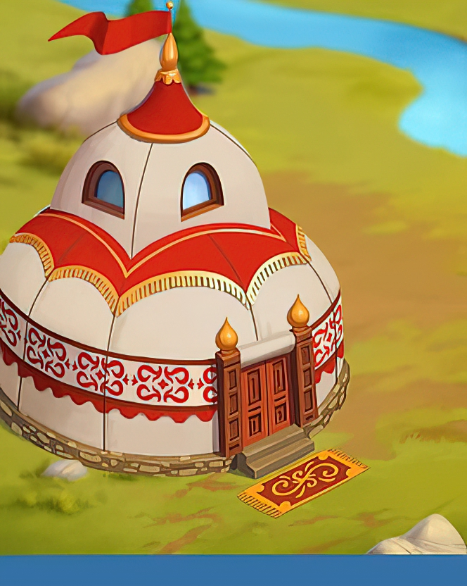 Royal Tent Card in Coin Master