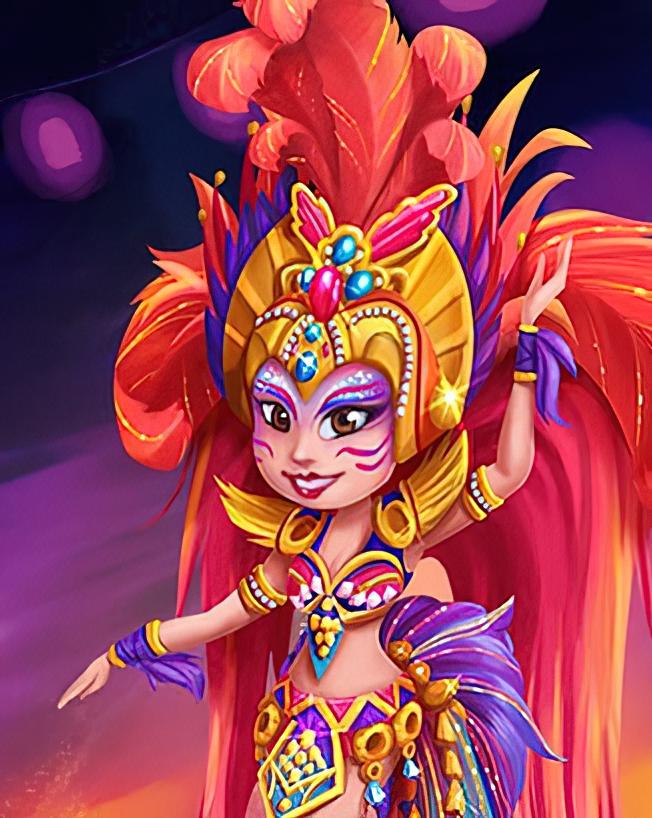 Samba Dancer Card in Coin Master